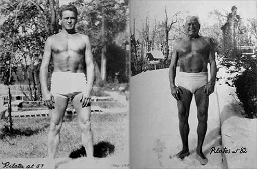 O Tζο Πιλάτες σε ηλικία των 57 και 82 ετών αντίστοιχα!