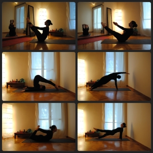 Pilates matwork series